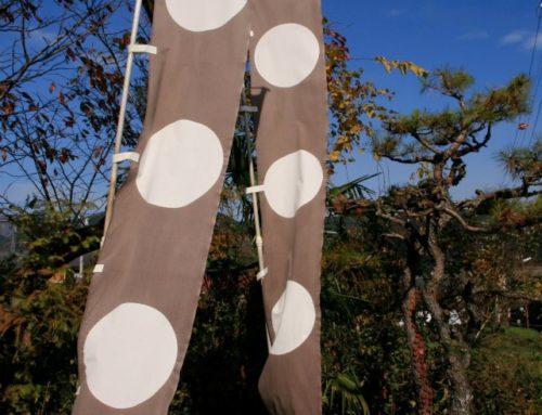 Todo Takatora's Ishi Mochi Battle Flag