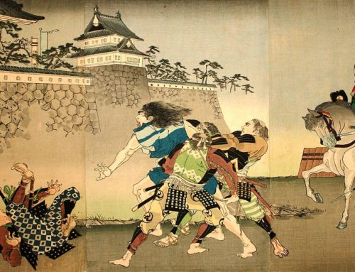 The Battle of Nagashino, June 28, 1575